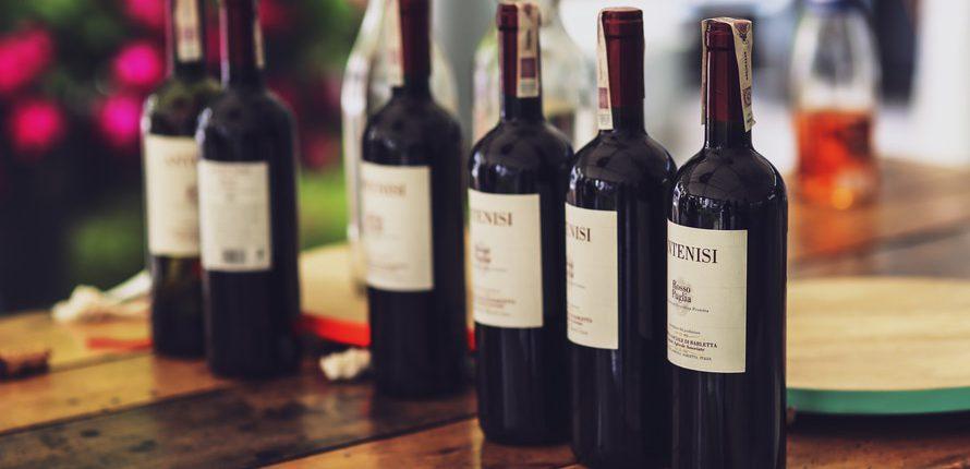 Weinverkostung im Nineteen´th